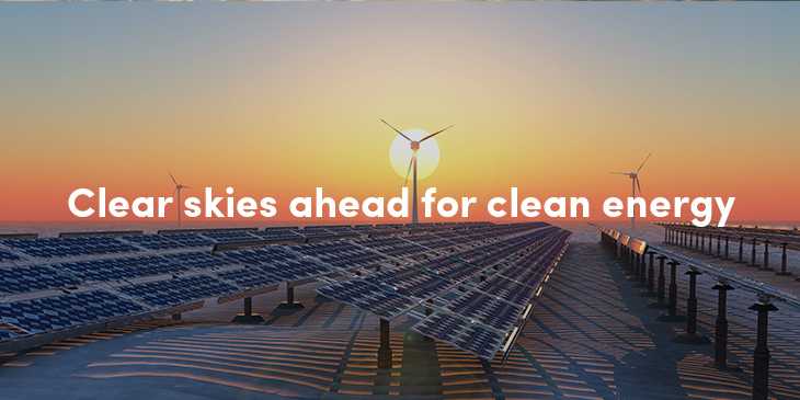 The exciting forecast for clean energy
